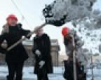 Уборка снега опасна для здоровья!