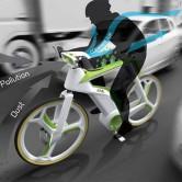 Велосипед будущего – крути педали и очищай воздух