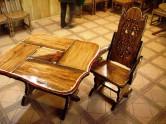 Удаляем царапину на деревянной мебели