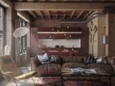 Den Loft: стильный лофт для любителей комфорта и простоты