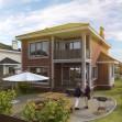 В поселке Истра Вилладж Парус подходит к концу строительство домов