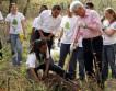 Правители США посадили по дереву в День Земли
