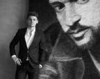 Художник из Украины сделал портрет Тимберлейка из ниток и гвоздей