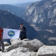 Уральские туристы покорили вершину Half Dome хребта Сьерра-Невада в США