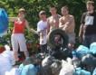 В киеве собрали почти 5 тыс. 120-литровых пакетов мусора