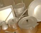 Чистим алюминиевую посуду
