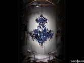 Эко-люстра из 500 «солнечных» бабочек