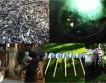 Художник расплавил 1527 пистолетов и автоматов, чтобы сделать лопаты для посадки деревьев