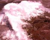 Загадочные ледяные иглы выбрасывало из озера в Миннесоте