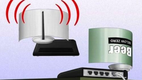 Жестянка из-под пива - вспомогательное устройство для передачи сигнала/волн