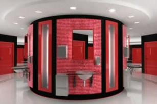 Девять вариантов оформления туалета