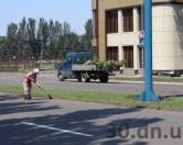 К приезду Президента Януковича в Енакиево устроили «покращення»