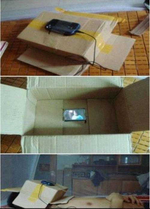 Коробка-кинотеатр