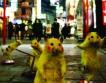 Японцы красят уличных крыс в покемонов