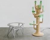 Креативная лампа-кактус из пивных бутылок создана в Бразилии