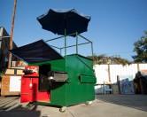 В Бруклине построили дом из мусорного контейнера