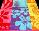 Изобретено полотенце отталкивающее песок