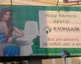 В России рекламу унитаза проверят на расизм