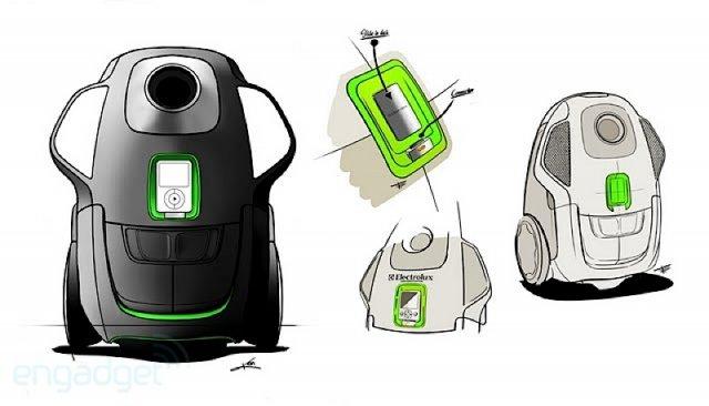 Пылесос скрестили с iPod