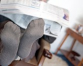 Англичанин 25 лет не меняет носки