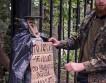 «Человек из мусора» стал на страже Тимирязевского парка