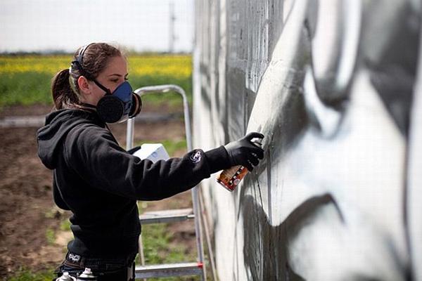 Как удалить граффити