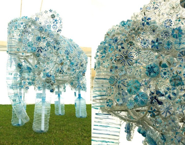 Plastic-Bottle-Elephant-by-Sarah-Turner-