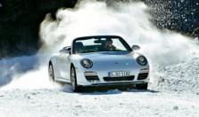 Porsche vs снег