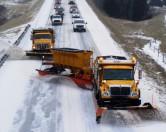 Уборка снега в Киеве: департамент благоустройства поставил фото из США