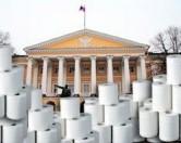 Туалетная бумага как источник о жизни Смольного