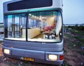 Креативная утилизация транспорта: дизайнерский дом-автобус в Израиле