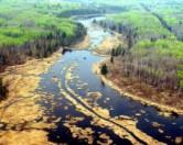 В провинции Альберта битум просачивается уже 9 недель, без признаков остановки
