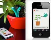 Высокотехнологичный гаджет Parrot Flower Power позаботится о домашних растениях