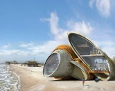 Футуристические дома-форты: жизнь при постоянных ураганах