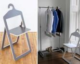 Оригинальные складные стулья-трансформеры