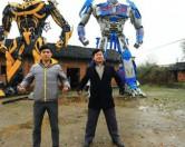 Китайцы построили трансформеров из металлолома.