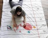 Для творческих натур— постельное белье, которое можно и нужно раскрашивать