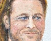Американец изображает лица знаменитостей на бумажных полотенцах