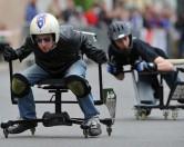 Белорусы проведут гонки на офисных стульях