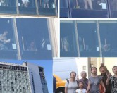 Жителей Нью-Йорка развлекают прозрачными уборными