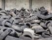 Старые шины будут использоваться в производстве автомобильных аккумуляторов