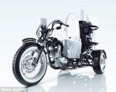 В Японии создан мотоцикл-туалет