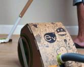 22-летний студент создал картонный пылесос