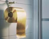 Создана золотая туалетная бумага за миллион долларов